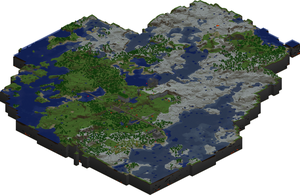Minecraft map by Tounushi