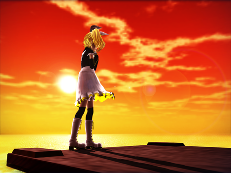: MMD : let's promise by PuniPudding
