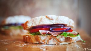 Sandwich for lunch by CJacobssonFoto