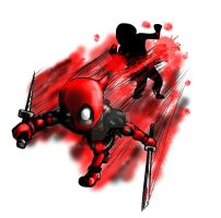 Chibi Deadpool 02 by taurence