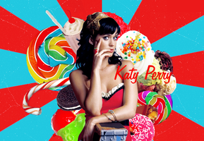 Katy Perry by saphorablue