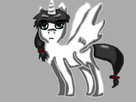 Frost the Catastrophic Pony *shot* by Shoeboo