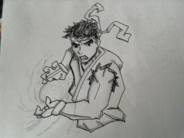 Ryu  by Acespider