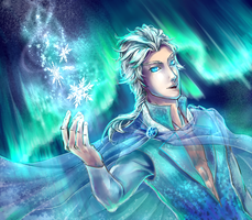 Male Elsa o3o by Sacchim