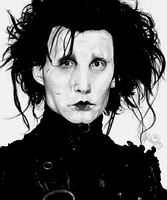 Edward Scissorhands by BlackCaracaL