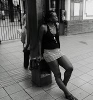 Catching trains by Afrosoul4eva