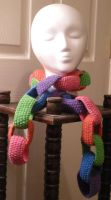 Child's Link Scarf by pretending2bme