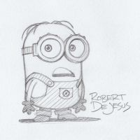 Minion Despicable Me by Banzchan