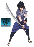 Sasuke Taka Shippuden Render by CartoonPerson