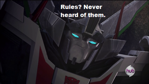 Rules? by Cliffjumper-TFP