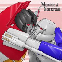 Megatron and Sterscream by J-666