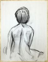 Figure Drawing One by seanpt