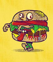 ZOMBURGER by dzeri