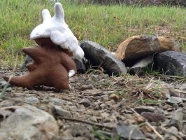 Pokemon clay Cubone figure :'( by Epicsquirtle