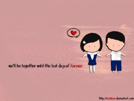 love me forever by lexikien