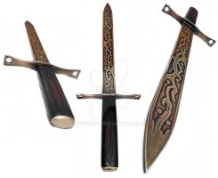 Celtic style ceremonial dagger by EdgeFx1
