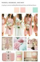 Fresh Wedding Themes for Spring by kute89
