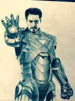 Iron man by stephenkilcullen