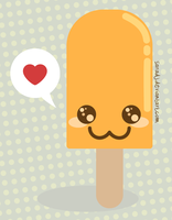 Cute Popsicle by SaraDJ