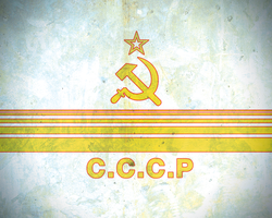 Soviet Stripes Wallpaper by spectravideo