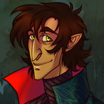 Half-elf Adrian by AnimeDumbass