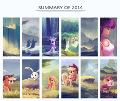 Summary of 2014 by aJVL
