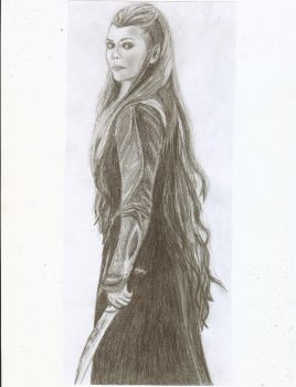 Tauriel by NativeFaery