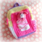 Toontown Kitty Kit Crochet Backpack by MadameWario