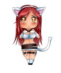 Chibi Kitty Katarina by Thanysa