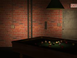 Low rent pool hall by Peace-of-Art