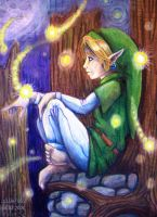 Lost in thought in Lost Woods by LilleahWest