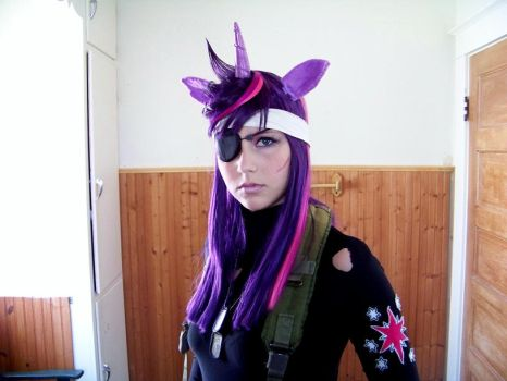 Future Twilight Sparkle Front View by vervv