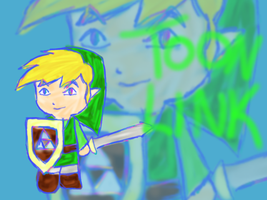 comission Toon Link by Xnessax