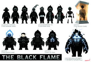 Collection of The Black Flame by naratani