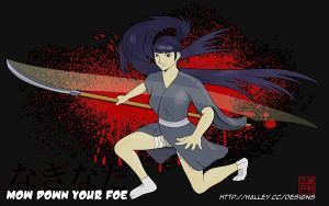 Mow Down Your Foe by halley