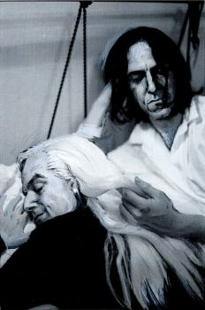 Snape and Lucius: In bed by ElenaTria