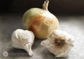 Onion and Garlic by TiffanyHen