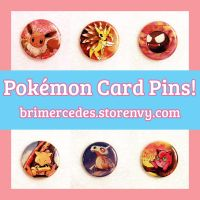 For Sale: 50+ Pokemon Card Pins! by BriMercedes