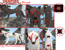Vampire Knight Preset by HoneyHeartStudios