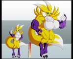 Renamon's growth by animewave