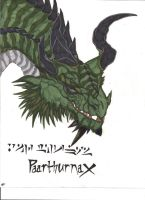 The Old One: Paarthurnax by The-MuseDragon