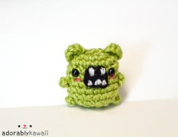 mini green monster by adorablykawaii