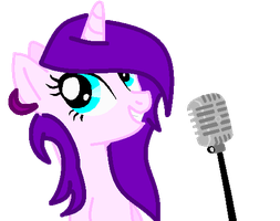 Her Sining Talent by NatalkaPony