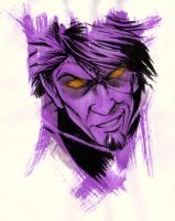 Marvel Blur - Nightcrawler by mariocau