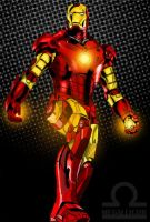 iron man by megallicor