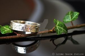 Ivy on bark ring by WallaceReg