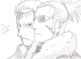 FMA: Scar and Miles by Kometenmelodie