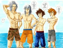 Beach Body Body Comparision by Kiriya-Kirihara