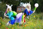 Fionna and Lady Rainicorn 3 by MayoInvasion