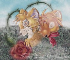 Martin and Rose - Forever Rose by WildFairy-Suane
